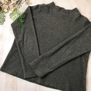 Madewell Knit boxy Gray Sweater Size Small
